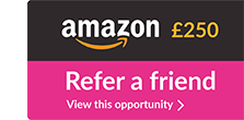 Refer a friend and claim up to £250 worth of Amazon Vouchers